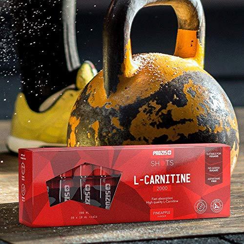 AMAZON (Sportler und andere Randgruppen) Prozis L-Carnitin 2000mg ; 20 Ampullen (ohne Zucker, ohne Aspartam, vegan) 0,64 Euro / Ampulle
