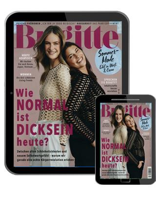 Brigitte Abo (26 digital Ausgaben) für 50,12 € mit 50,00 € BestChoice Universalgutschein (Kein Werber nötig)