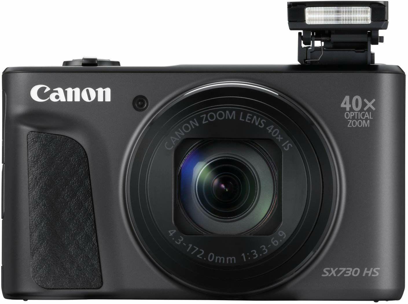 Canon PowerShot SX730 HS Digitalkamera - 20,3 MPix, 1080p / 60 BpS, 40x optischer Zoom, Wi-Fi, NFC, Bluetooth (Amazon.fr)