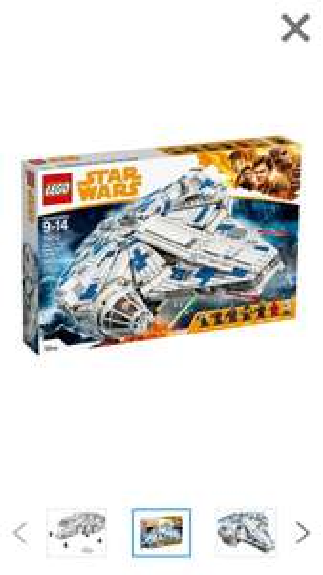 LEGO STAR WARS 75212 Kessel Run Millenium Falcon