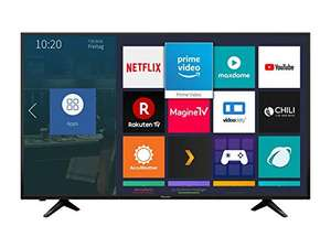 Hisense H55AE6000 138 cm (55 Zoll) LED Fernseher (Ultra HD, HDR, Triple Tuner, Smart TV) [Energieklasse A+]
