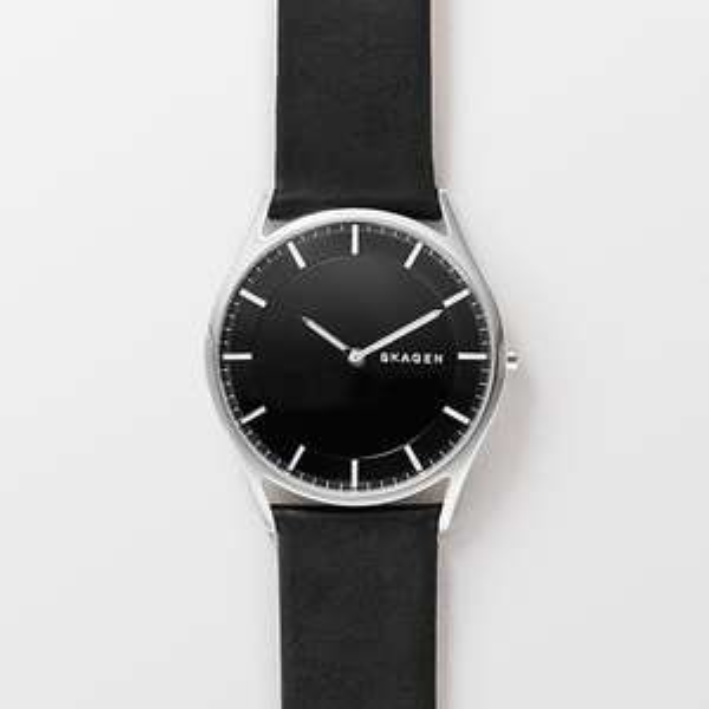 Skagen Holst Slim Leather Watch mit 20% on top + NL Rabatt