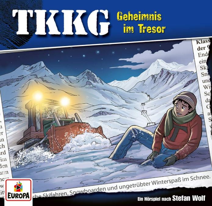 TKKG 208/Geheimnis im Tresor (Hörbuch CD) für 2,99€ (Müller)