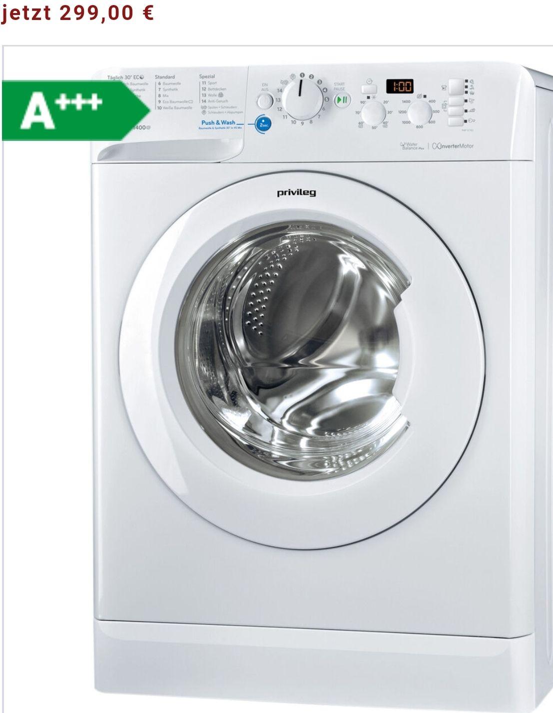 Versandkostenfrei! Waschmaschine Privileg PWF X 743  A+++ 7 kg/ Jahresverbrauch Wasser 10840 Liter/ 1400 Umdrehungen pro Minute/ Jahresverbrauch Strom 174 kwh