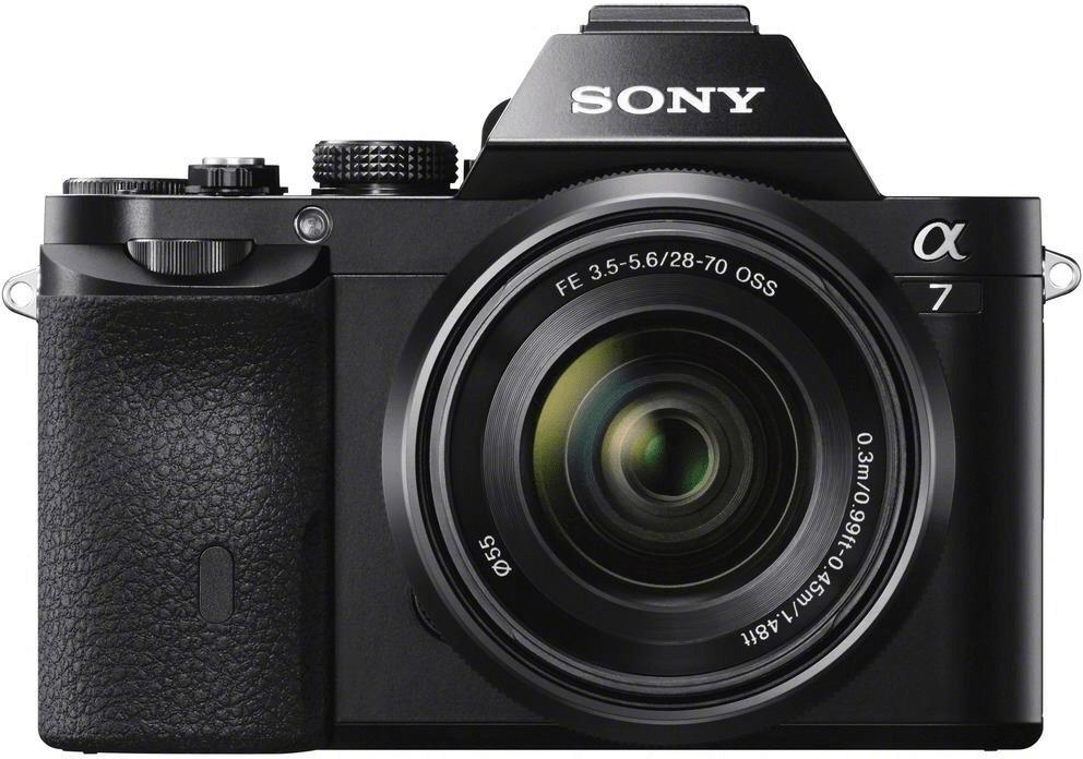Sony Alpha 7 Systemkamera inkl. Kit 28-70F3,5-5,6 & FE 50F1,8 Objektive