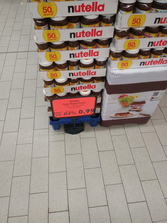 [Lokal] Kaufland Dresden - Nickern Nutella 500g