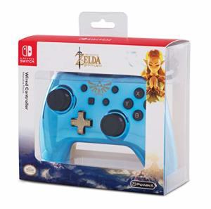 Power A Nintendo Switch Wired Controller (Chrome Blau Zelda) für 19,24€ (Amazon UK)