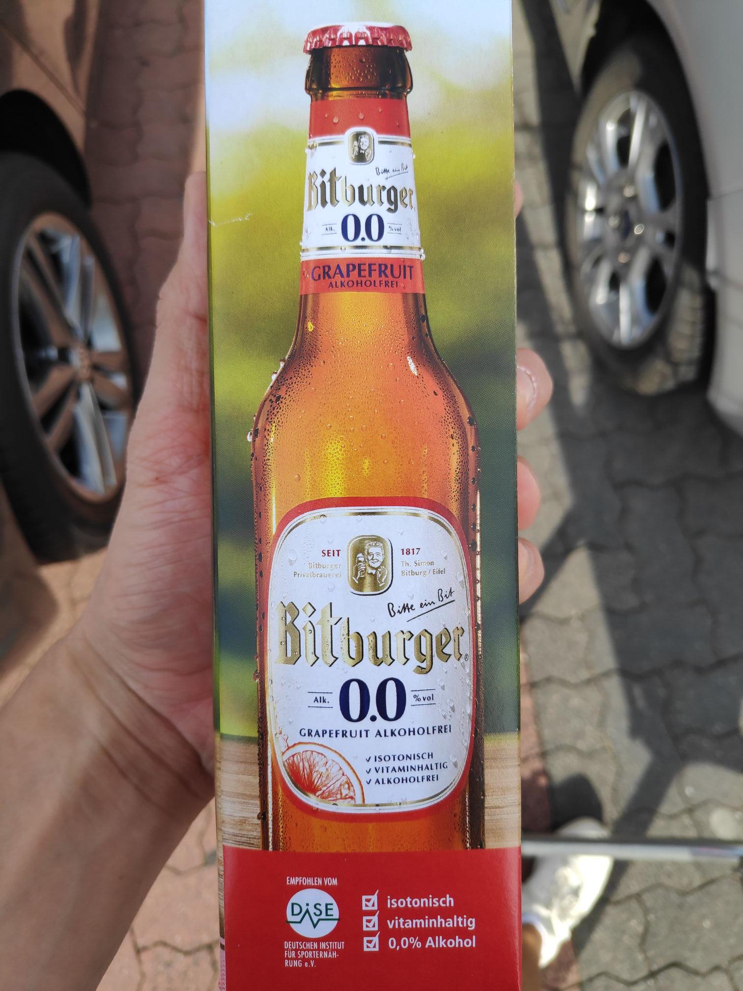 (LOKAL Rewe Schwerin) Bitburger 0,0% Grapefruit