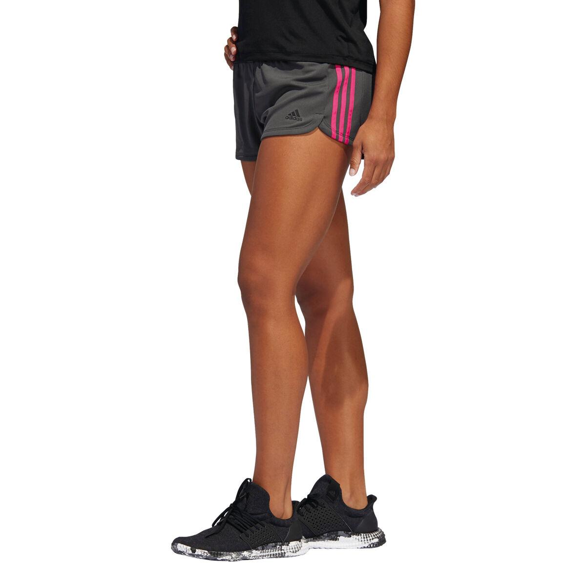 "Adidas™ - Damen Sport-Shorts ""3S"" (Grau/Pink) ab €4,78 [@Karstadt.de]"