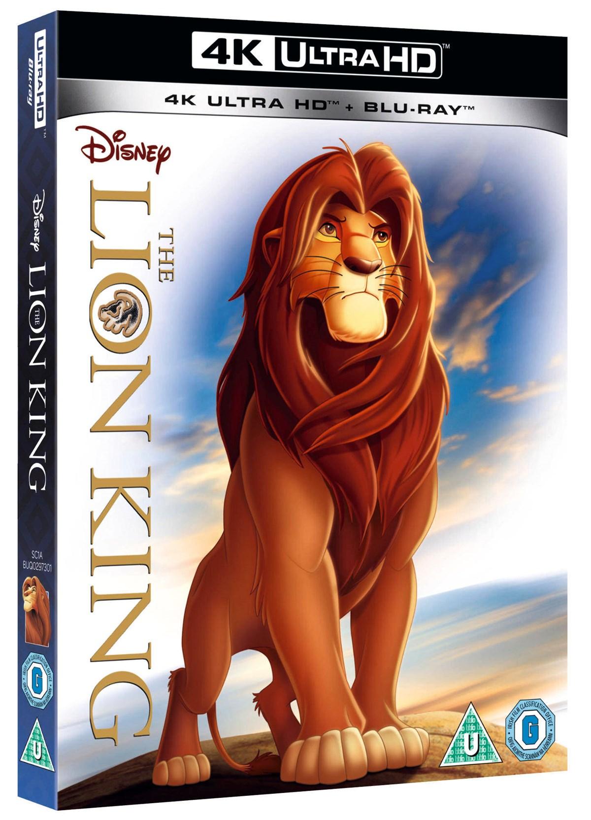 [Zoom.co.uk] Der König der Löwen 4K UHD+BD
