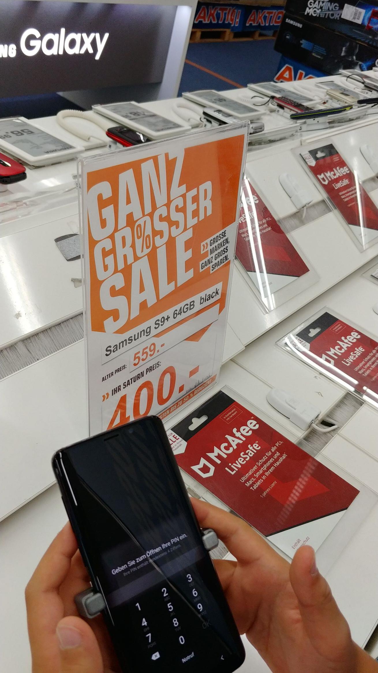 [Lokal Norderstedt] Samsung Galaxy S9 Plus 64 GB Einzelstücke/Restposten