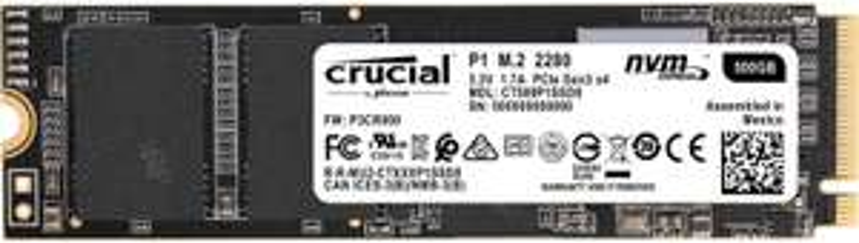 Crucial P1 500GB M.2 NVMe SSD | SanDisk Ultr 128GB SDXC: 19€ | Crucial Ballistix Sport 8GB DDR4 RAM (3000): 29€ - Speicher Knallertage