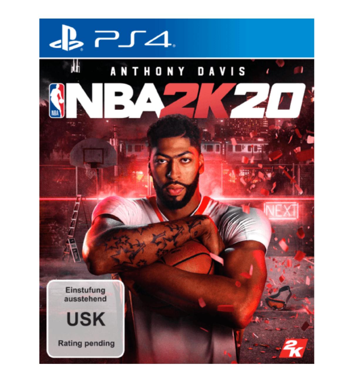 2x NBA 2K20 Spiel für die PS4 oder XBox oder Switch (59,99€) bei [Saturn]
