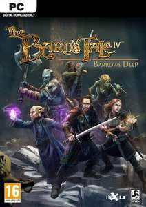 The Bards Tale IV 4 Barrows Deep PC   inklusive DC Version