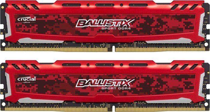 Crucial Ballistix LT 16GB (2x8GB) DDR4 3000Mhz CL15 rot