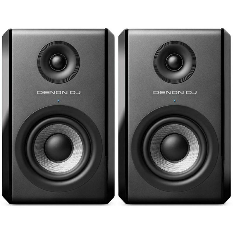Denon DJ SM50 Aktiv-Monitor (Paarpreis, 2-Wege, 2,5cm Hochtöner, 13,5cm Tieftöner, 50Hz-30kHz)