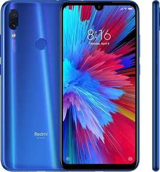 Xiaomi Redmi Note 7 6.3'' 4GB 64GB, blau Snapdragon 660 Smartphone Global