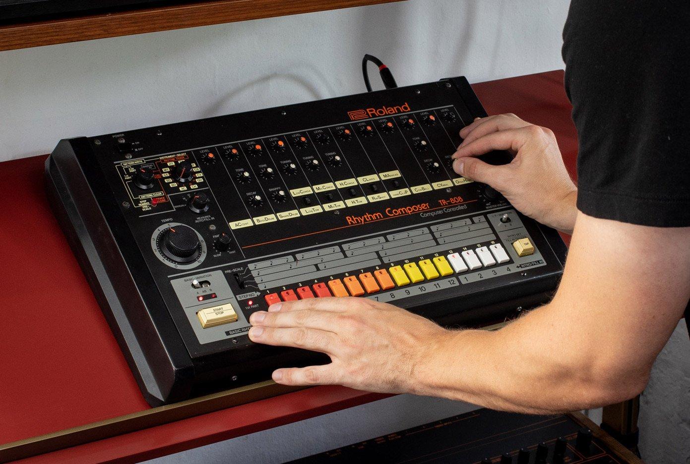 808 Drum machine samples kostenlos von Samples from Mars