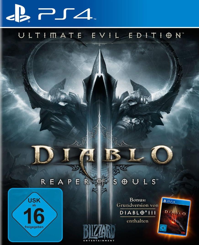Diablo III: Reaper of Souls - Ultimate Evil Edition (PS4) für 15€ versandkostenfrei (Saturn)