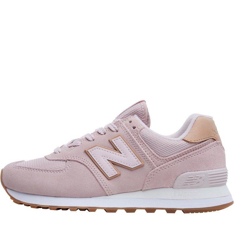 New Balance Damen Sneaker in 'altrosa'