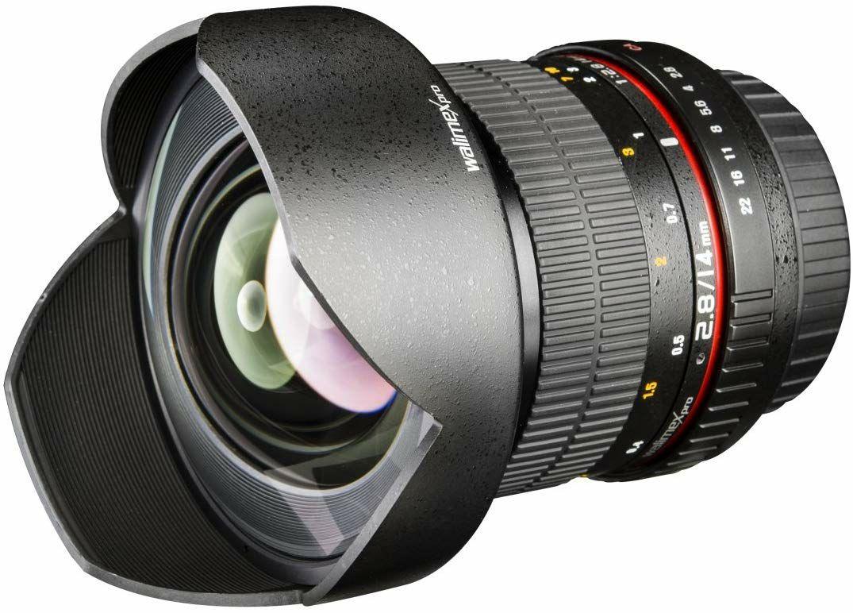 Walimex Pro 14mm 1:2,8 DSLR-Weitwinkelobjektiv für Olympus Four Thirds