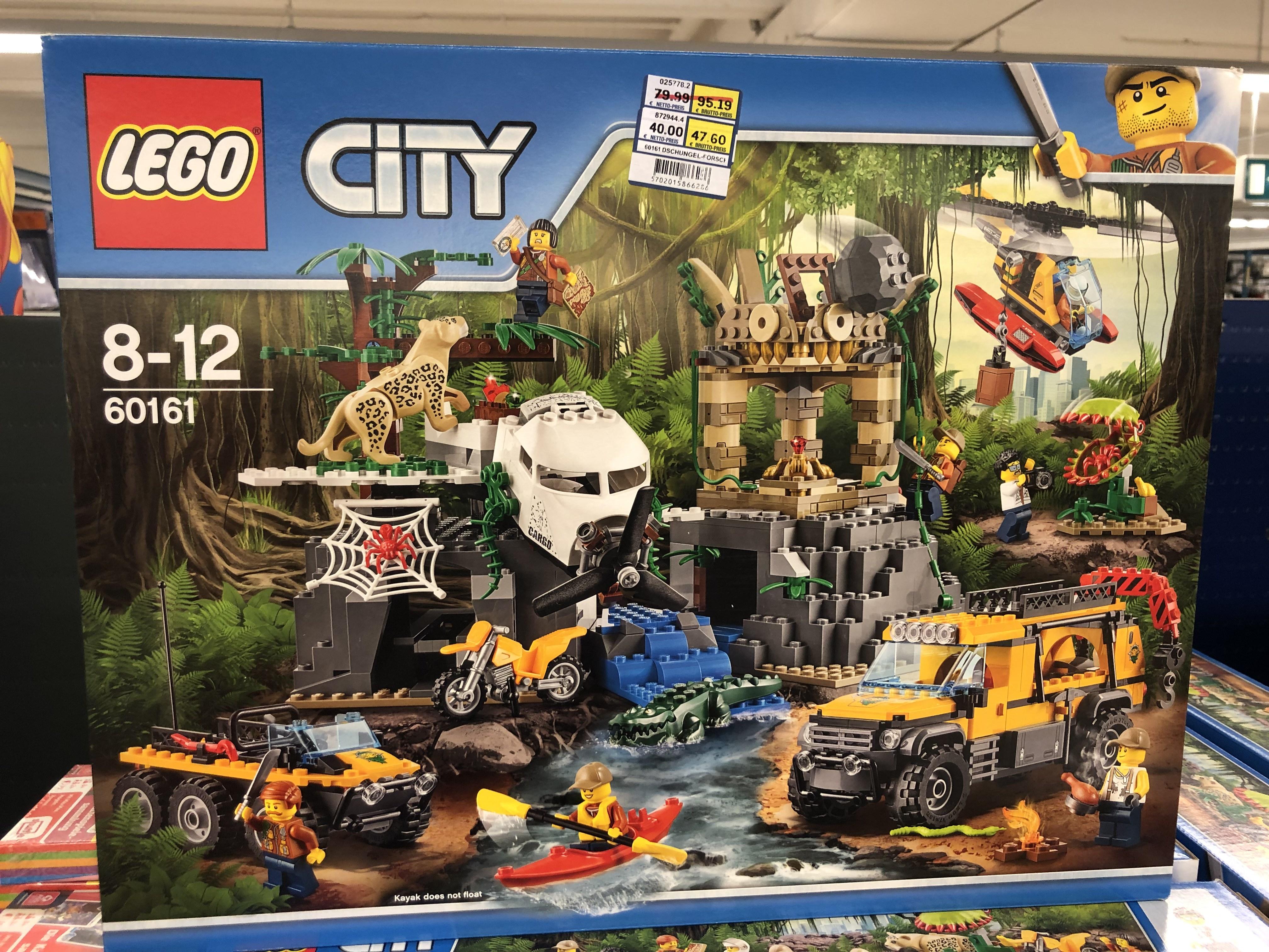 [Lokal Metro Laatzen] Lego City Forschungsstation 60161