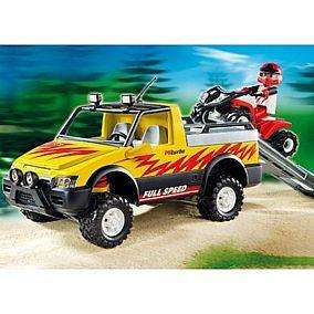 PLAYMOBIL® 4228 Pick-Up mit Racing Quad -- Karstadt Online/Offline