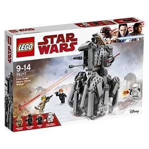 [Amazon.es] Lego Star Wars 75177 First Order Heavy Scout Walker