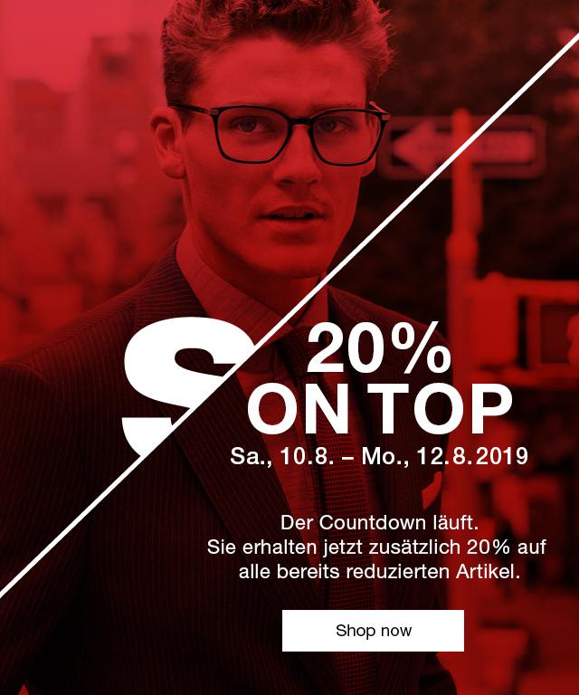 Strellson - 20% on top auf Sale