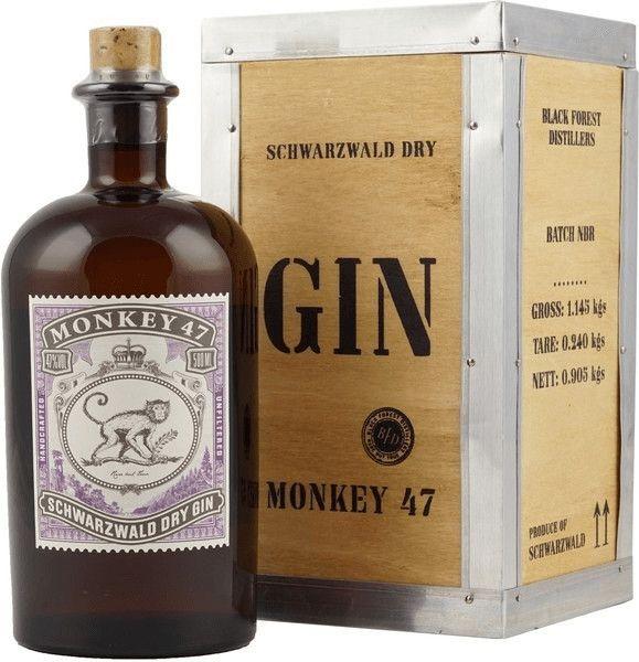 Monkey 47 Gin in Holzkiste