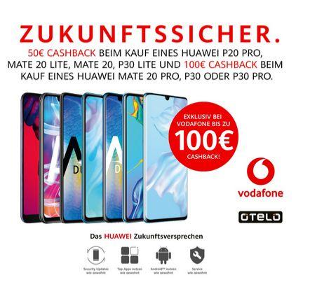 Huawei Cashback Aktionen August/September 2019