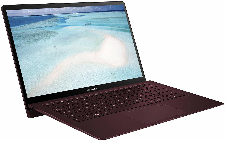 "Asus Zenbook S UX391UA - 13.3"" FHD iPS, i5-8250U, 8GB RAM, 256GB SSD, Thunderbolt 3, Harman Kardon, 1.1kg, QWERTY Tastatur (Amazon UK)"