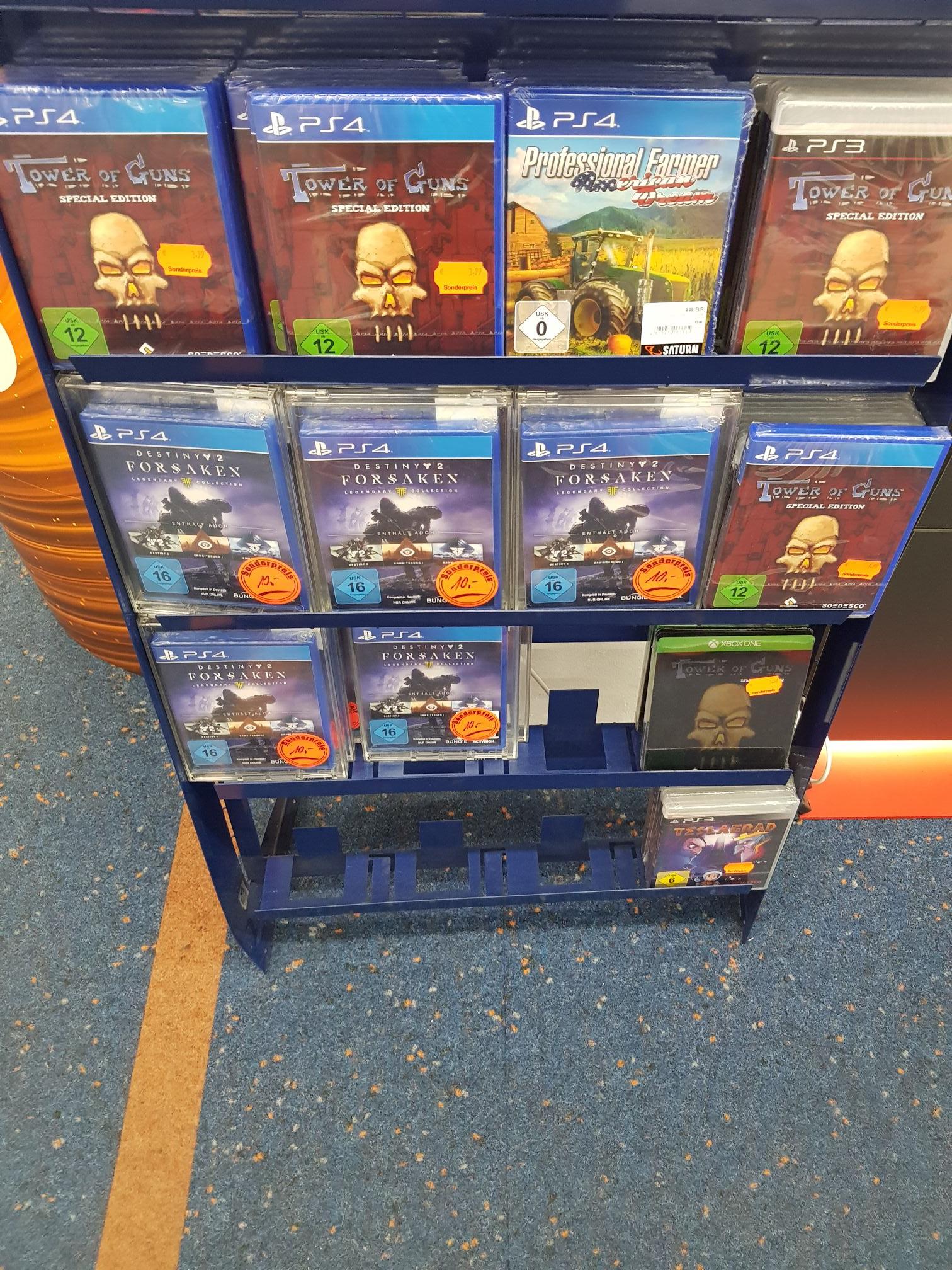 * Lokal Münster Saturn Akarden* Forsaken Destiny und weitere Games (Xbox und Ps4)