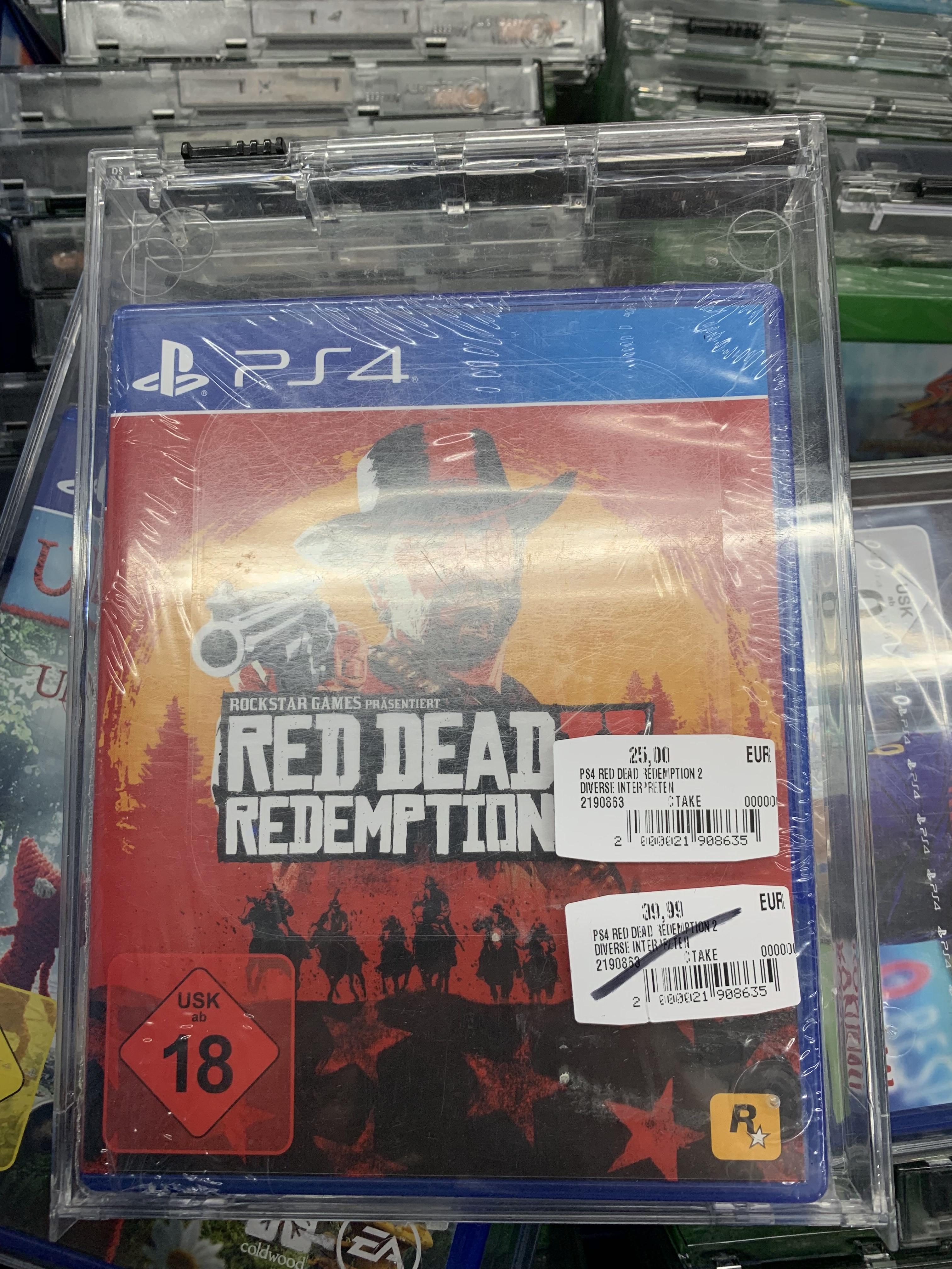 [LOKAL KARLSRUHE] Saturn Red Dead Redemption PlayStation 4