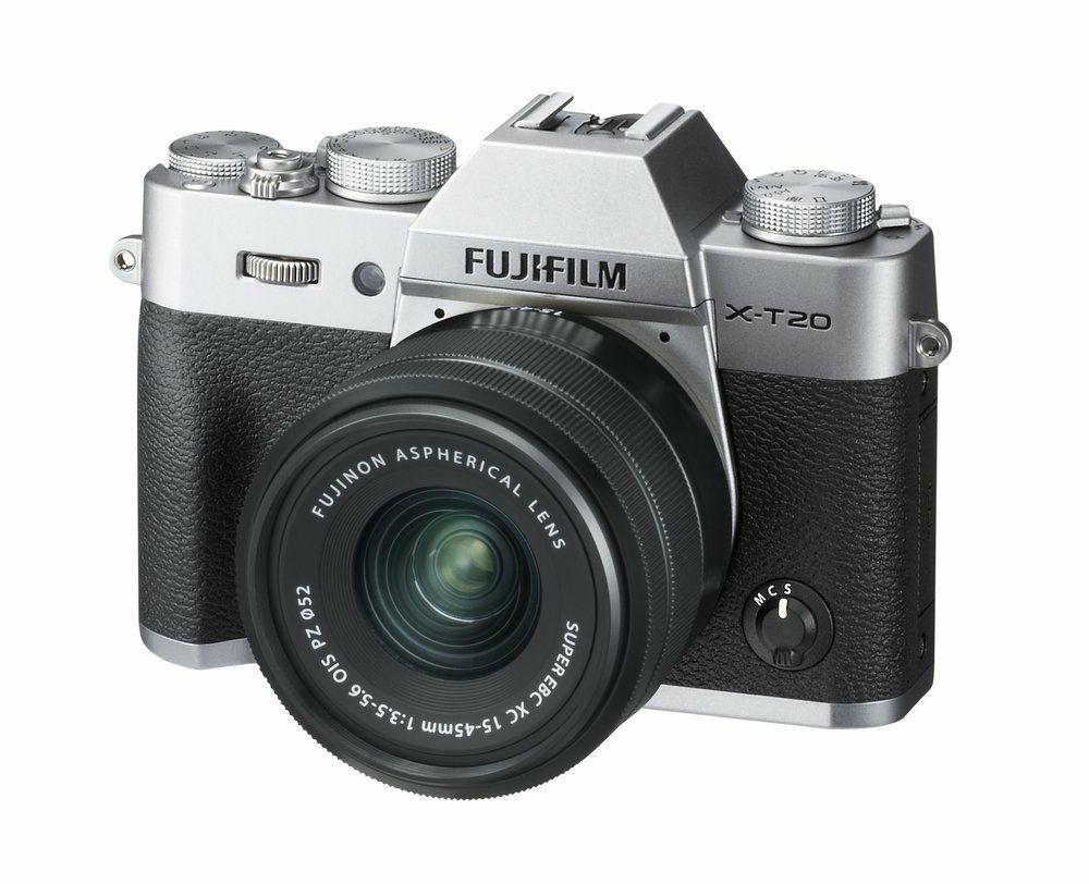 Fujifilm X-T20 Systemkamera + XC 15-45mm f/3.5-5.6 OIS PZ