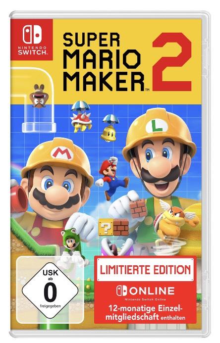[LOKAL SATURN LÜNEN] Super Mario Maker 2 Limited Edition für die Nintendo Switch
