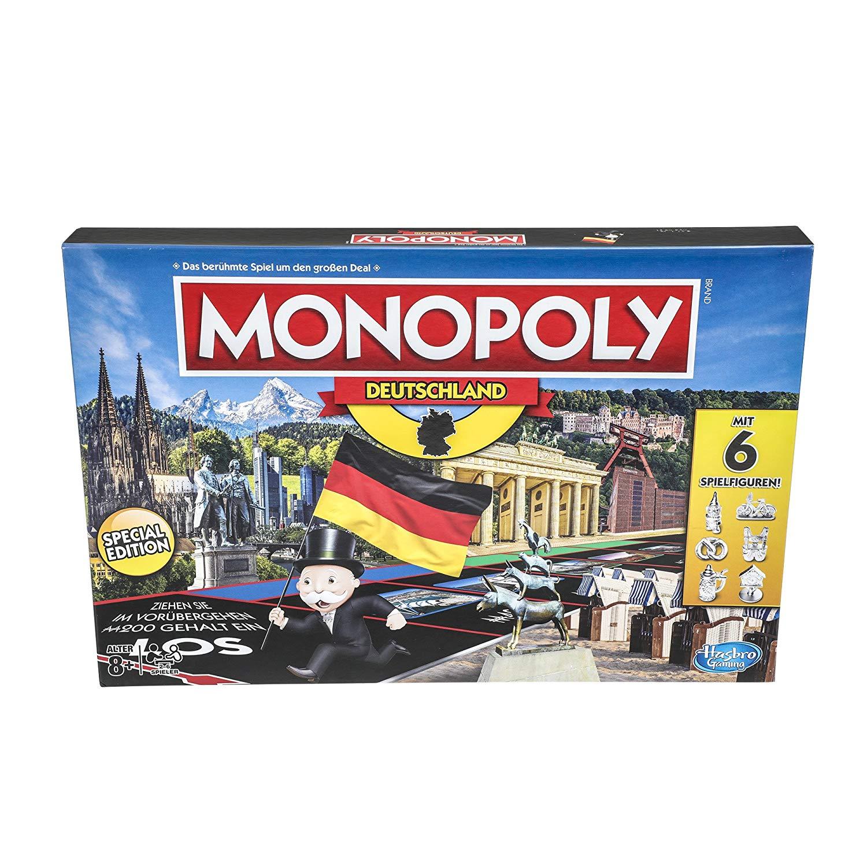 """Hasbro™ - Gesellschaftsspiel """"Monopoly Deutschland"""" für €9,97 (Versandkostenfrei) [@Real.de]"""