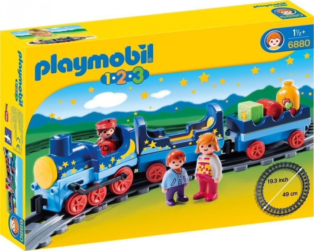 Playmobil™ - 123: Sternchenbahn mit Schienenkreis (6880) für €14,97 [@Real.de]