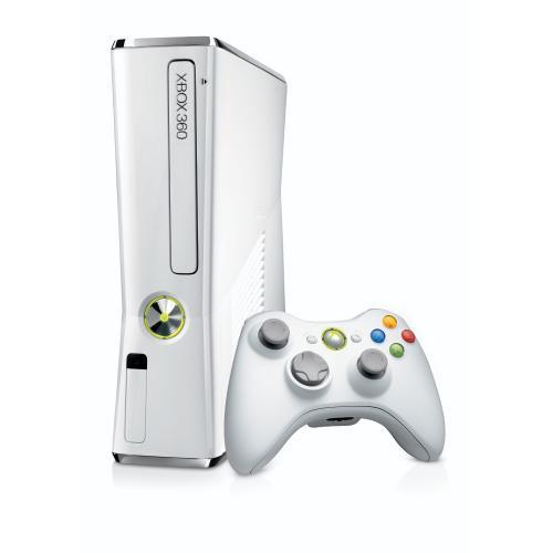 Xbox 360 Slim white Limited Edition 4GB für 146,97€