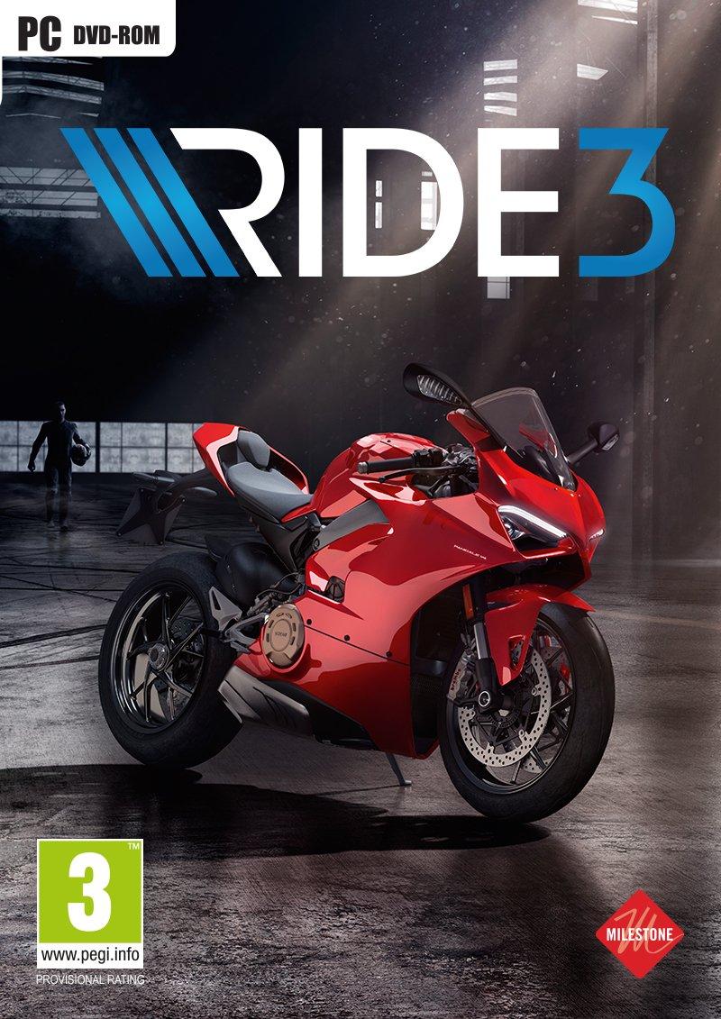 Ride 3 PC Retail und Steam Code
