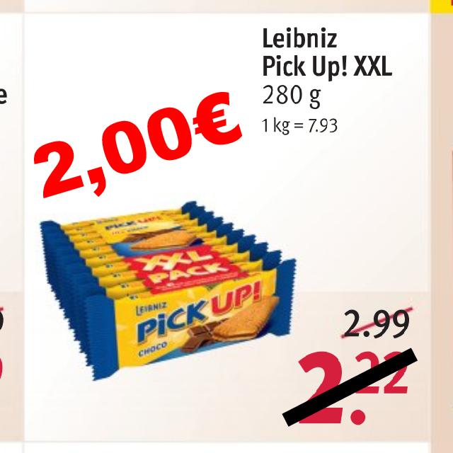 Leibniz Pick Up! XXL 10x28g [Rossmann + App-Coupon]