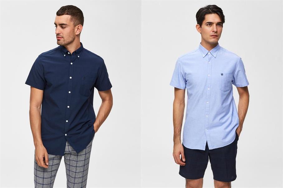 20% extra Rabatt auf bereits reduzierte Herren 1/2 Arm Hemden von Selected Homme, Tom Tailor uvm.