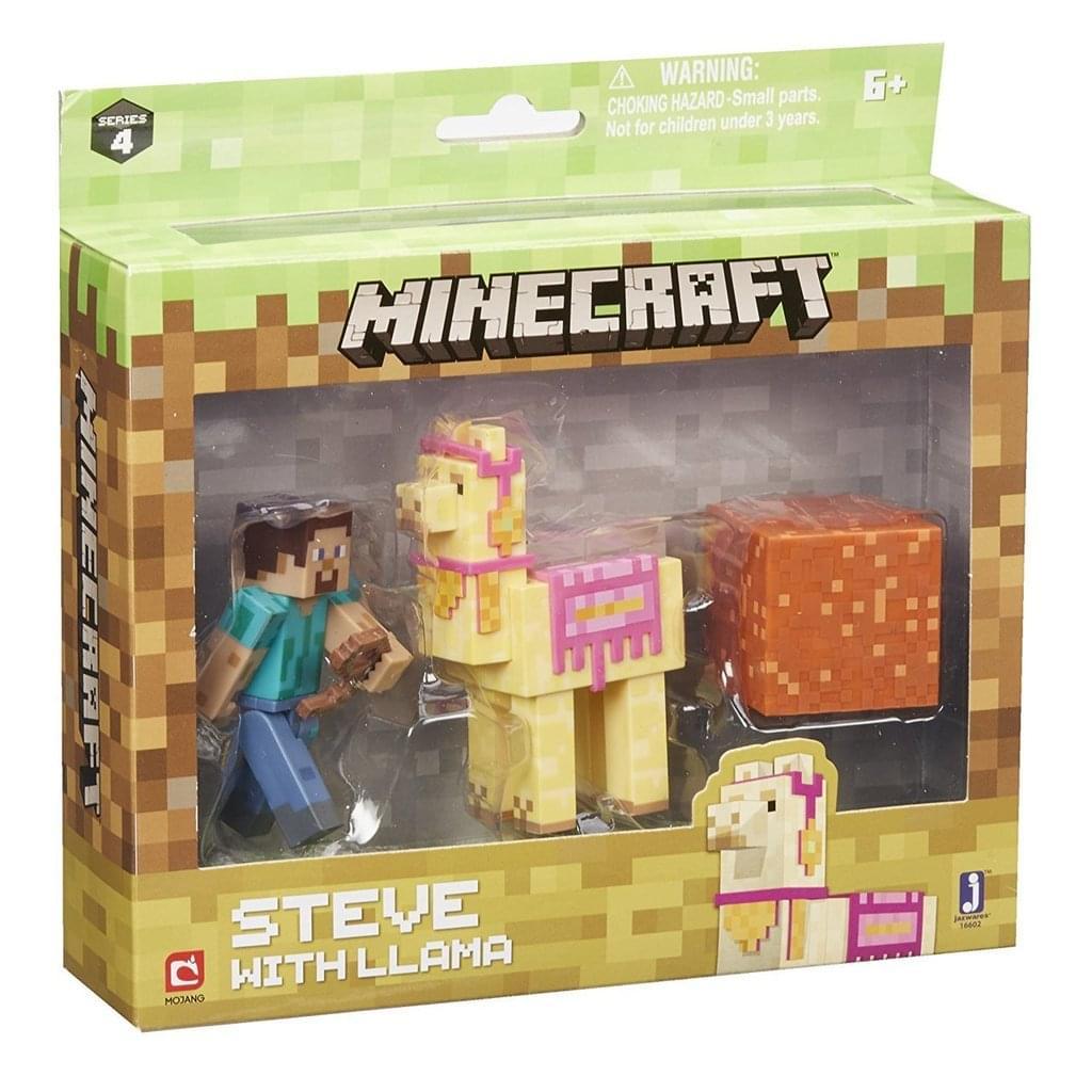 Minecraft - Steve Mit Lama Pack