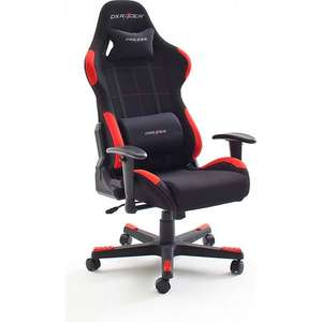 DX-RACER 1 Chefsessel / Gamingstuhl F-Serie (schwarz/rot) *versandkostenfrei* [Netto-online.de]