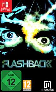 Flashback (Switch) & Flashback 25th Anniversary - Limited Edition (PS4) für je 12,99€ (GameStop & Amazon Prime)