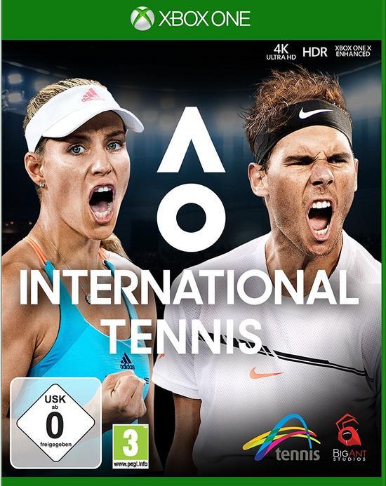 AO International Tennis (Xbox One) für 16,99€ (GameStop)