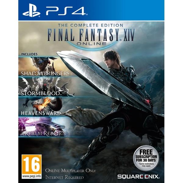 Final Fantasy XIV The Complete Collection (PS4) für 37,98€ (Shop4DE)