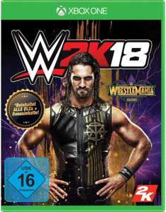 WWE 2K18 Wrestlemania Edition (Xbox One) für 7,98€ (Gameware)