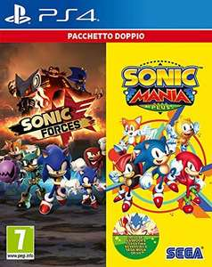 Sonic Mania Plus + Sonic Forces Doppelpack (PS4 & Xbox One) für je 28,32€ (Amazon IT)
