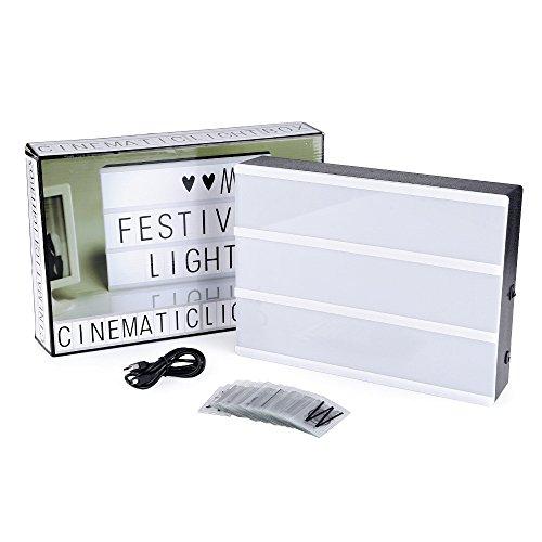 Din A4 Lichtkasten mit Buchstaben (Prime)